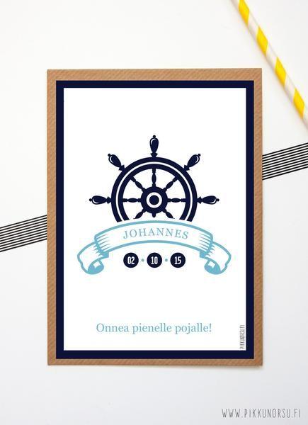Personoitu juliste ja postikortti. Personalized poster and postcard from 5 €