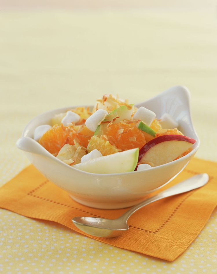 Classic Creamy Ambrosia Fruit Salad Guaranteed To Please Ambrosia Fruit Salad Ambrosia Salad Ambrosia Recipe