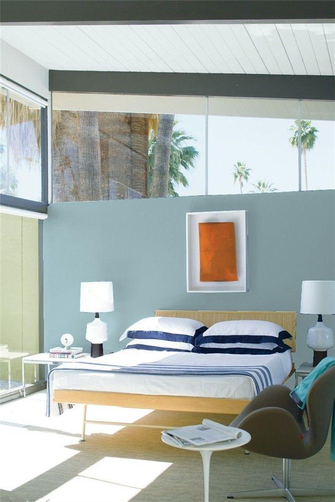 bedroom 2  benjamin moore  blue bedroom decor bedroom