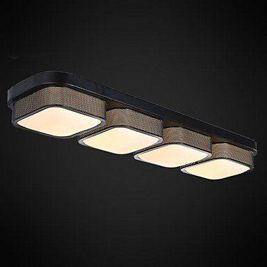 LED-Deckenlampen 4 Licht einfachen modernen künstlerischen (BBB - Led Deckenlampen Küche