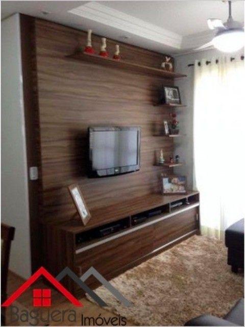 Adesivo De Parede Harry Potter ~ Apartamento de 54m2 no Residencial Excellence Possui 2 dormitórios com armários planejados