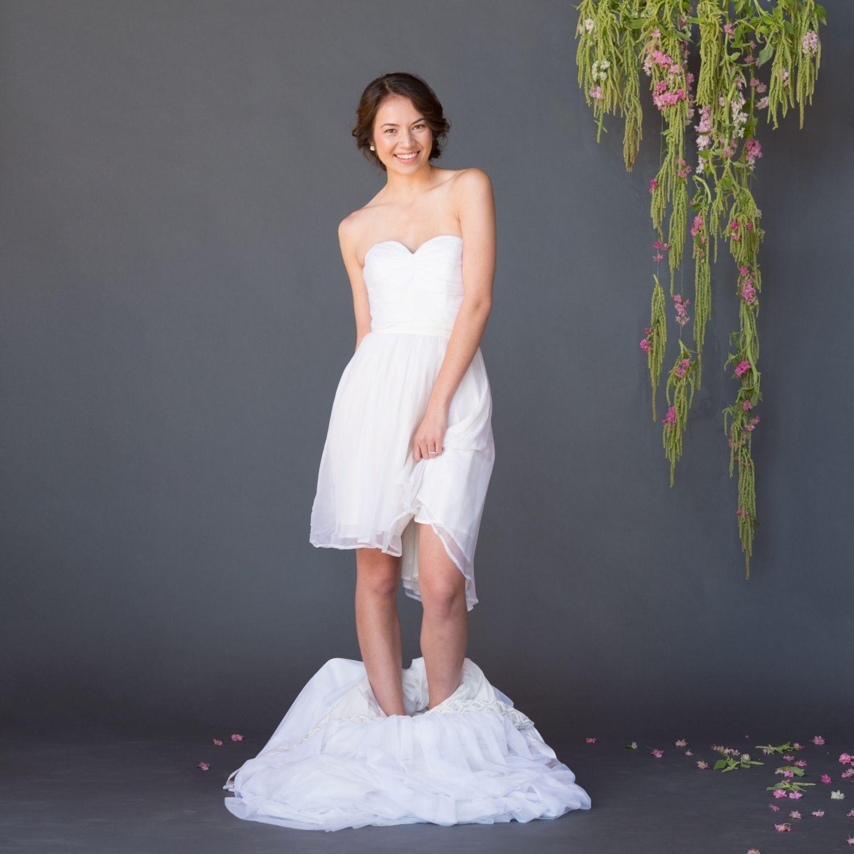 Handmade wedding dress  celiagrace fairtrade eco handmade weddingdress  Celia Grace