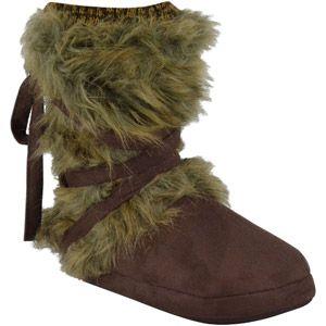 MUK LUKS Tonal Fur Wrap Boot...$20