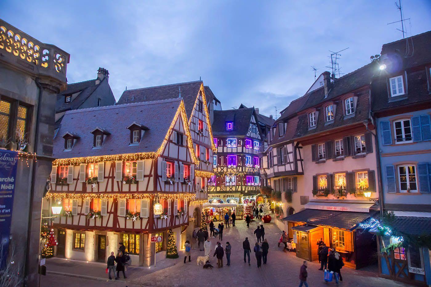 Colmar Christmas Market.Colmar Christmas Markets In Alsace France Colmar