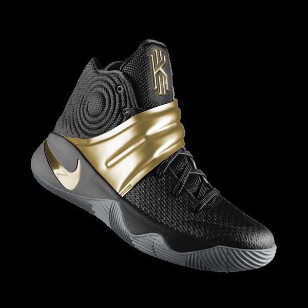 caa84ccaa47d Black Gold Nike Kyrie 2