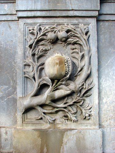 Pomegranate Symbol Scripts Signs Shrines Symbols Pinterest