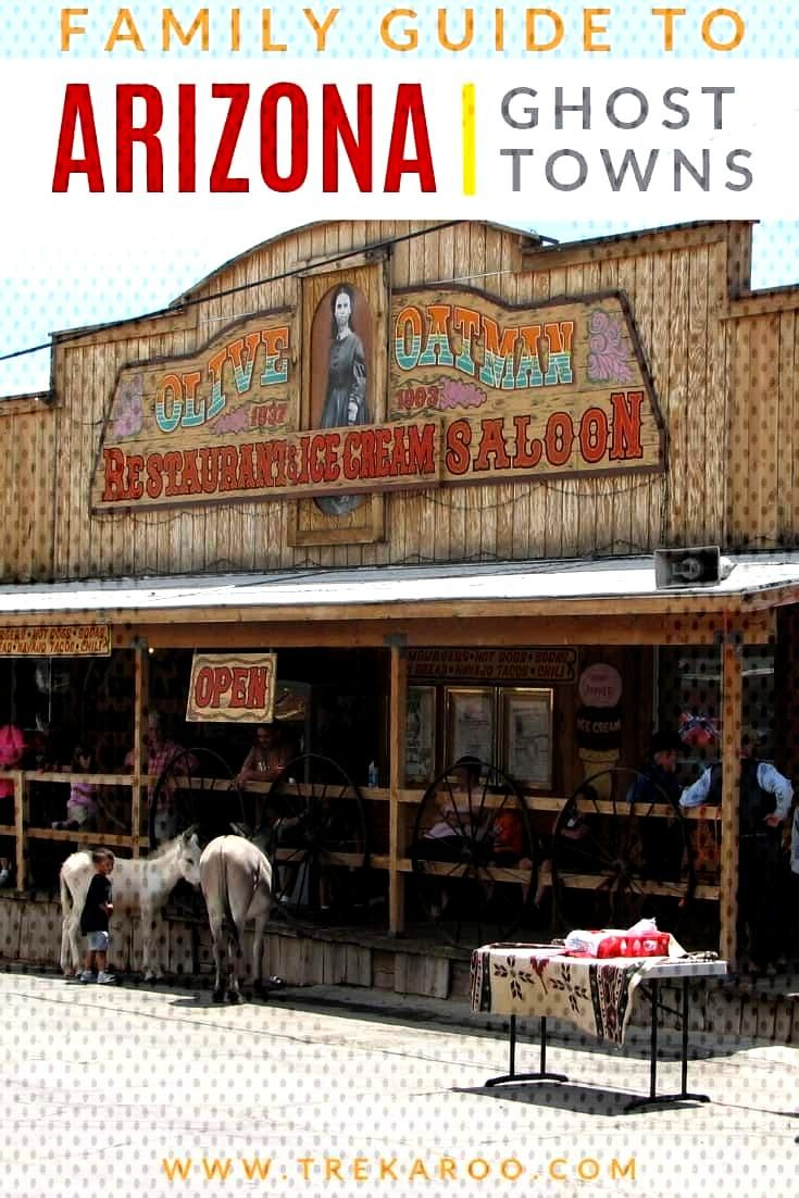 Looking to visit 1 of Arizona's 200 ghost towns? Check out the 10 best ghost towns in Arizona with