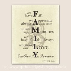 Family Mission Statement  Google Search  Family