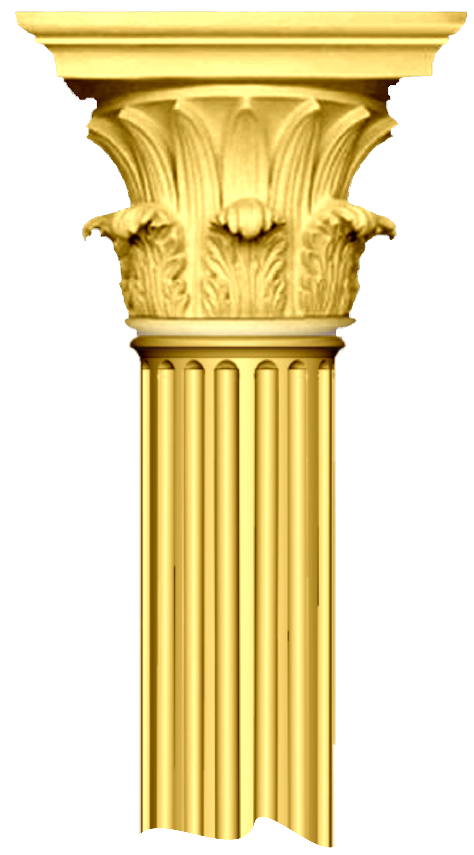 greek columns broken column image vector clip art