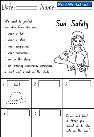 Printables Water Safety Worksheets water safety worksheets vintagegrn