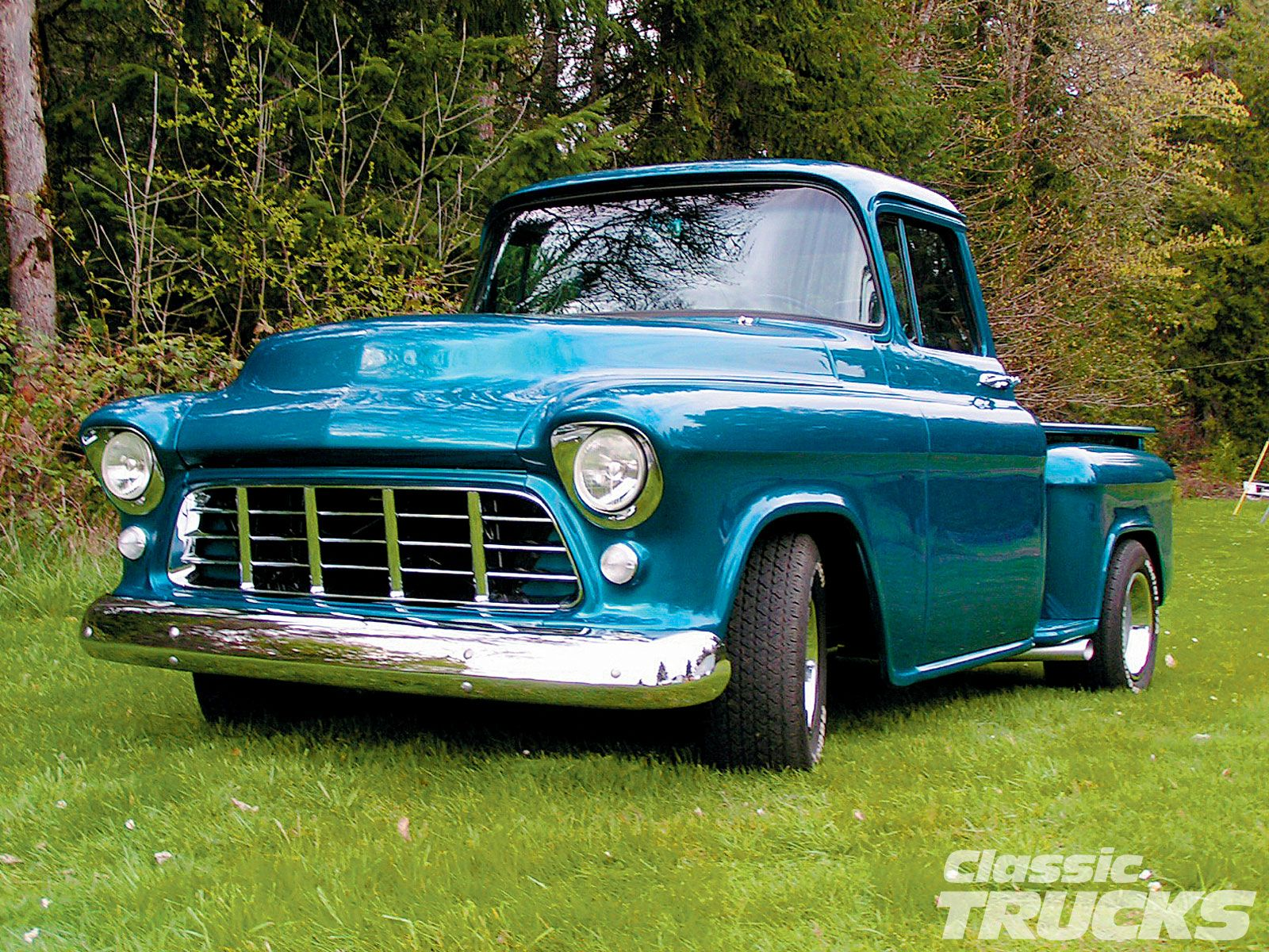 Old Chevy Cars And Trucks Of New School Pickups