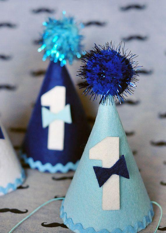 1st Birthday Hat Boy Birthday Hat Birthday Hat Birthday Headband Pompon Party Hats Felt Hat Handmade And Ready To Sh Birthday Hat 1st Birthday Birthday Garland