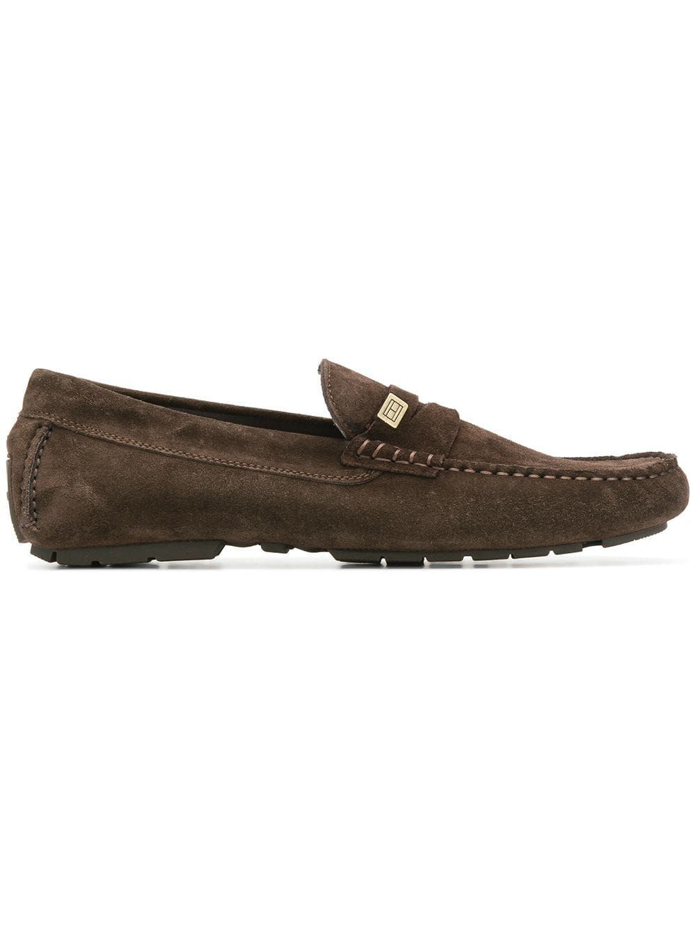 1416a59f0d TOMMY HILFIGER TOMMY HILFIGER CLASSIC LOAFERS - BROWN ...