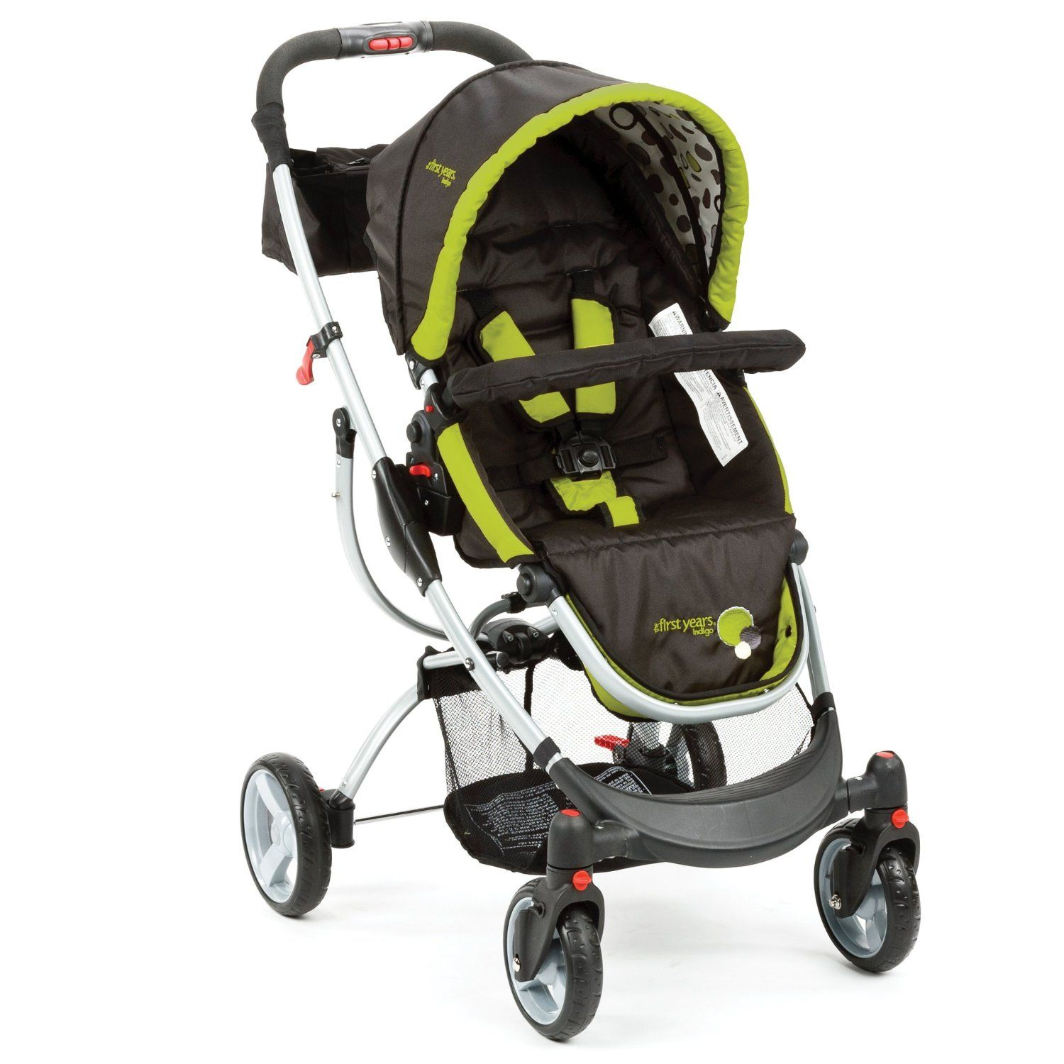 The First Years Indigo Stroller, Black/Green