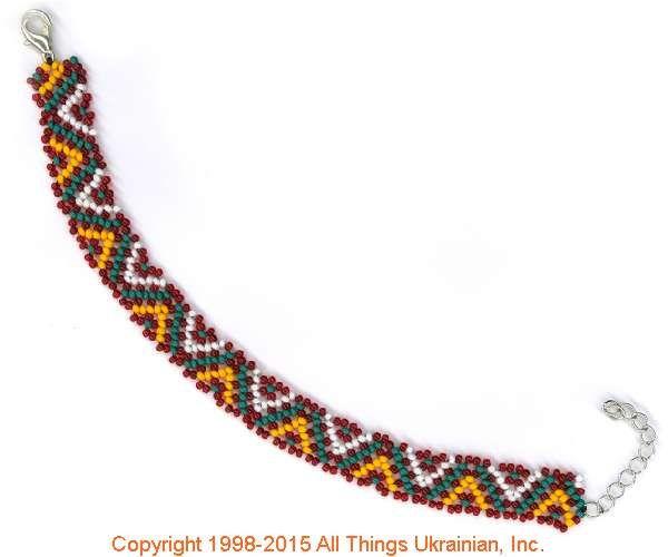 AllThingsUkrainian.com gherdany Bead Jewelry  # GIBN15116