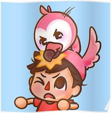'AlbertsStuff Flamingo ' Poster by masonx Flamingo logo
