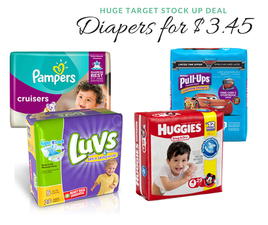 picture regarding Printable Luvs Coupons referred to as Significant Focus Diaper Bundle Huggies, Pampers Luvs for $3.45