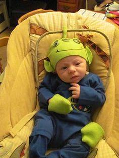 a look back more diy halloween costumes - Aliens Halloween Costume Baby