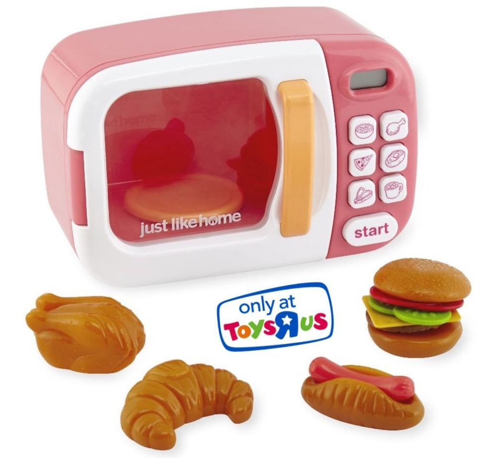 just like home microwave pink toys r us exclusive new