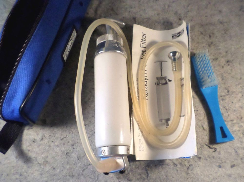Katadyn Water Filter Purifier Pump Used Tested Working Perfectly C15b3 Katadyn Katadyn Water Filter Purifier Water Filter