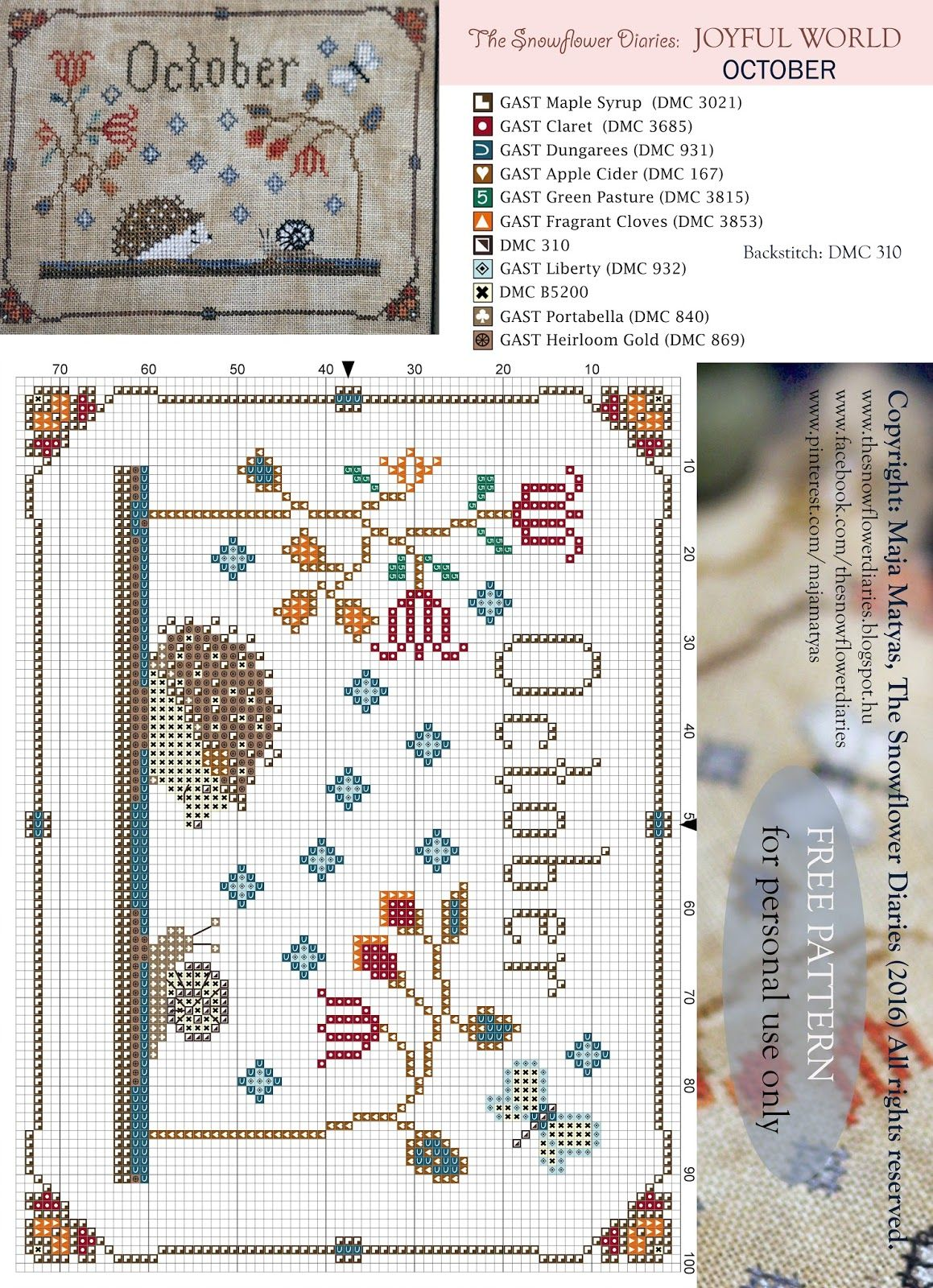 Creative blog about designing in the needlework industry ...