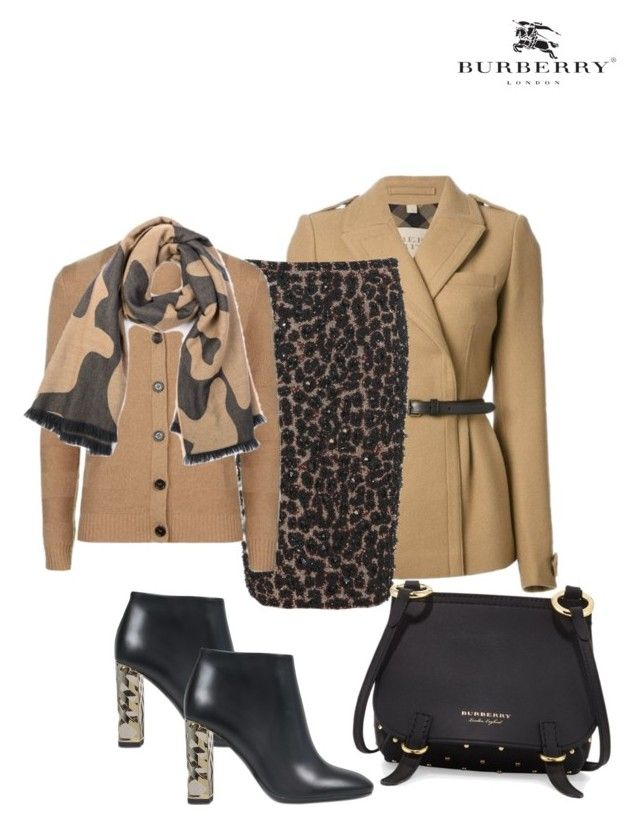 """# Burberry love"" by andrea-jones-4 ❤ liked on Polyvore featuring Burberry"