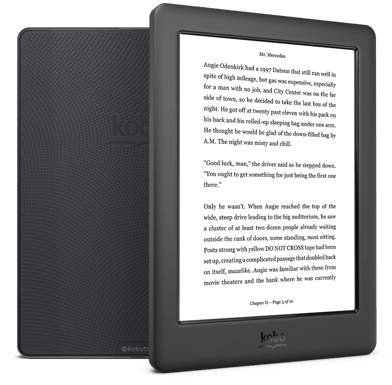 Kobo Glo Hd Reading