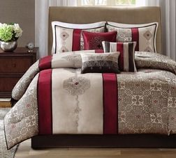 Madison Park Blaine Jacquard Queen Comforter 7-Pc. Set from JCPenney $144.99 (50% Off) -