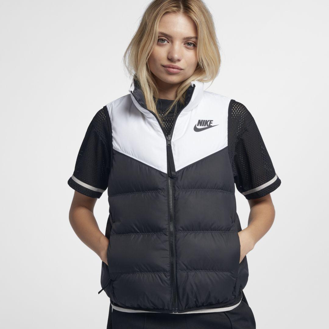 c334355415 Nike Sportswear Down Fill Women s Reversible Vest Size