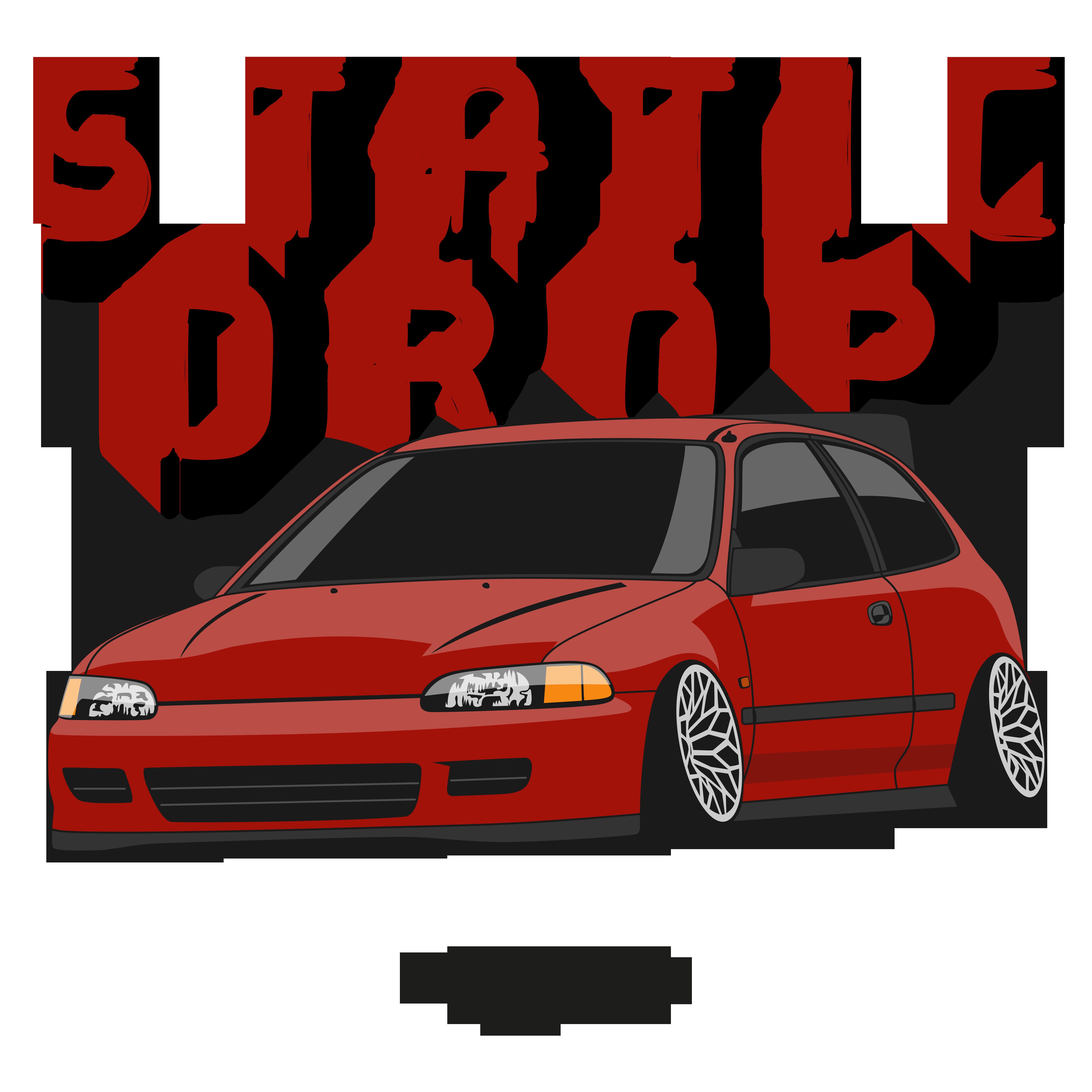 Static Drop Civic Eg Red Essential T Shirt By Motorprints In 2021 Civic Eg Civic Civic Ef
