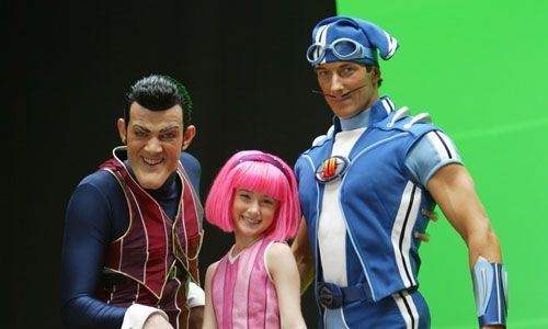 Image result for robbie sportacus stephanie