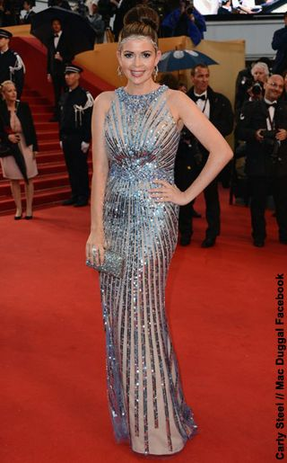 NewYorkDress Blog // Mac Duggal at Cannes Film Festival 2013 // Click through to see more celebs in this fabulous designer! // #CarlySteel #TheGreatGatsby