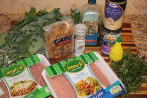 Ground Turkey and Kale Pasta