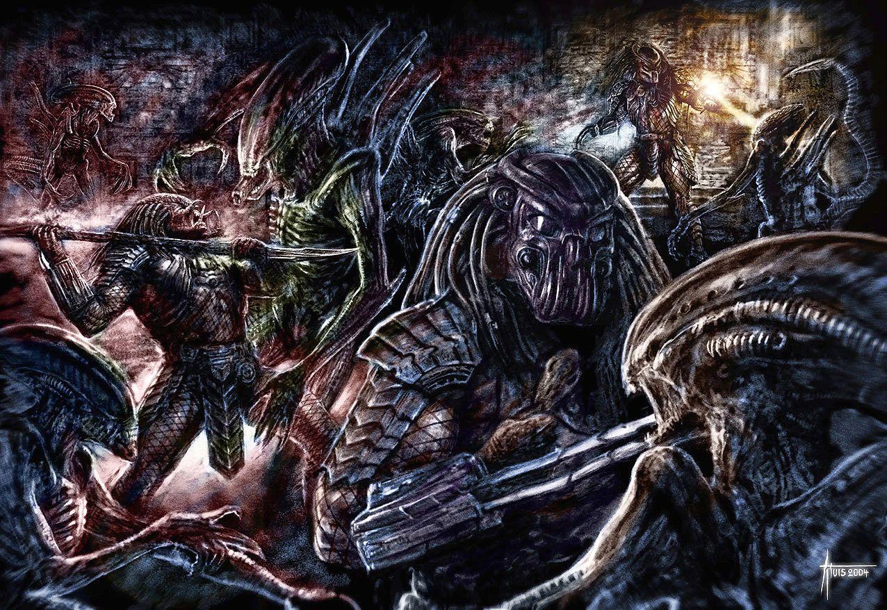 predator aliens   ... Aliens vs Predator I hate Aliens Vs ...
