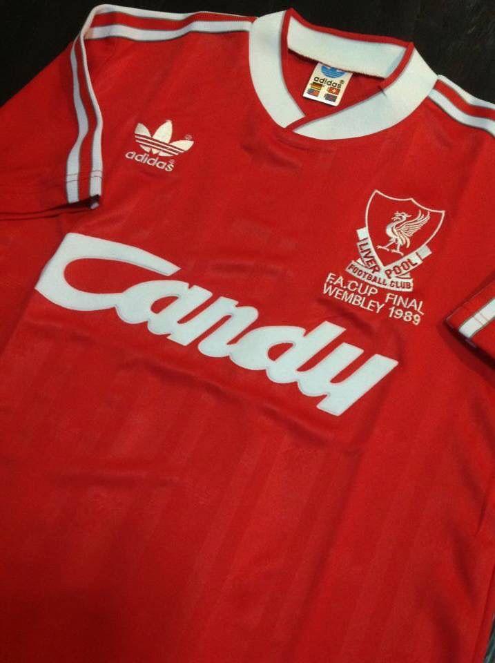 51c8ea78f Liverpool 1989 FA Cup Final Football Uniforms