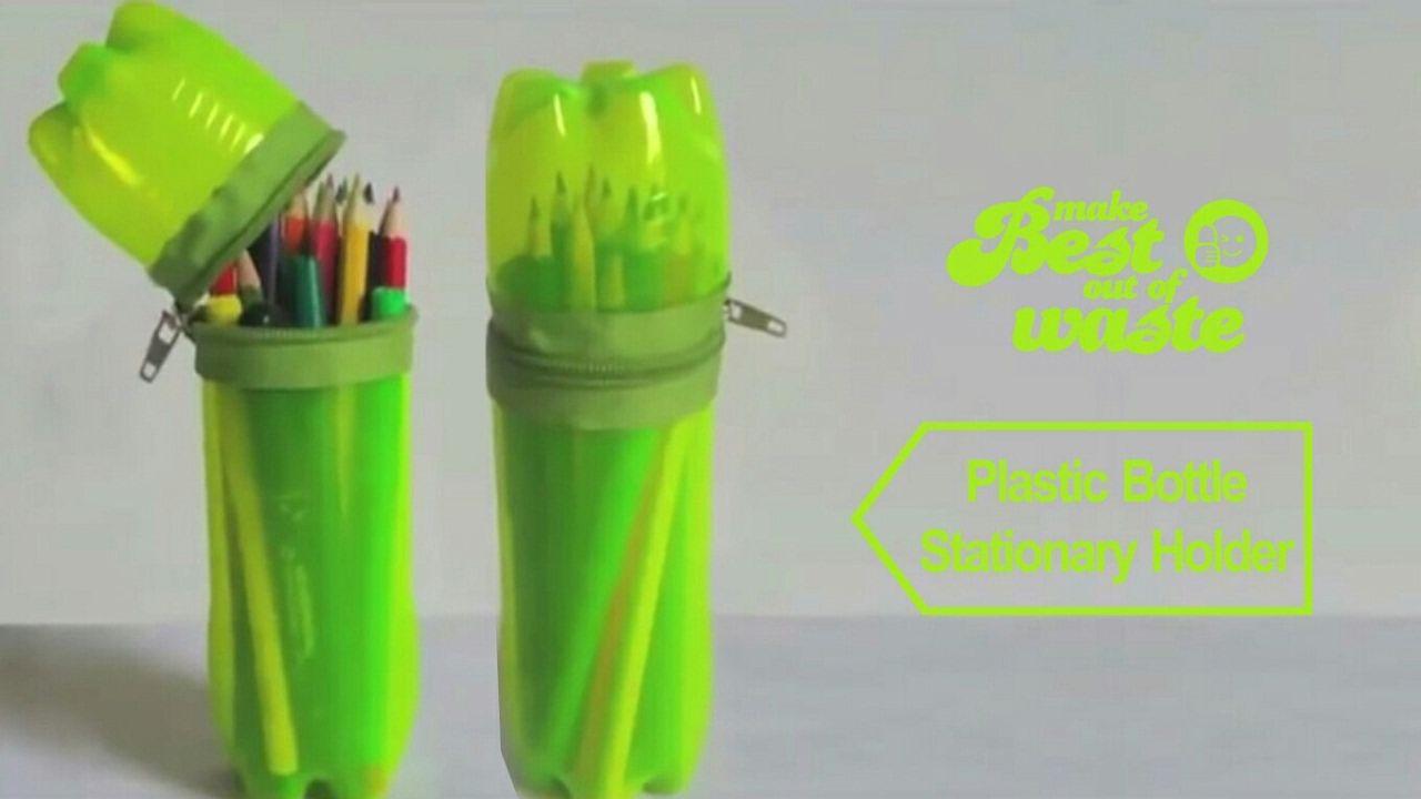 7 best Crafting Ideas images on Pinterest | Crafts, Crafting and ... for Diy Plastic Bottle Pen Holder  285eri