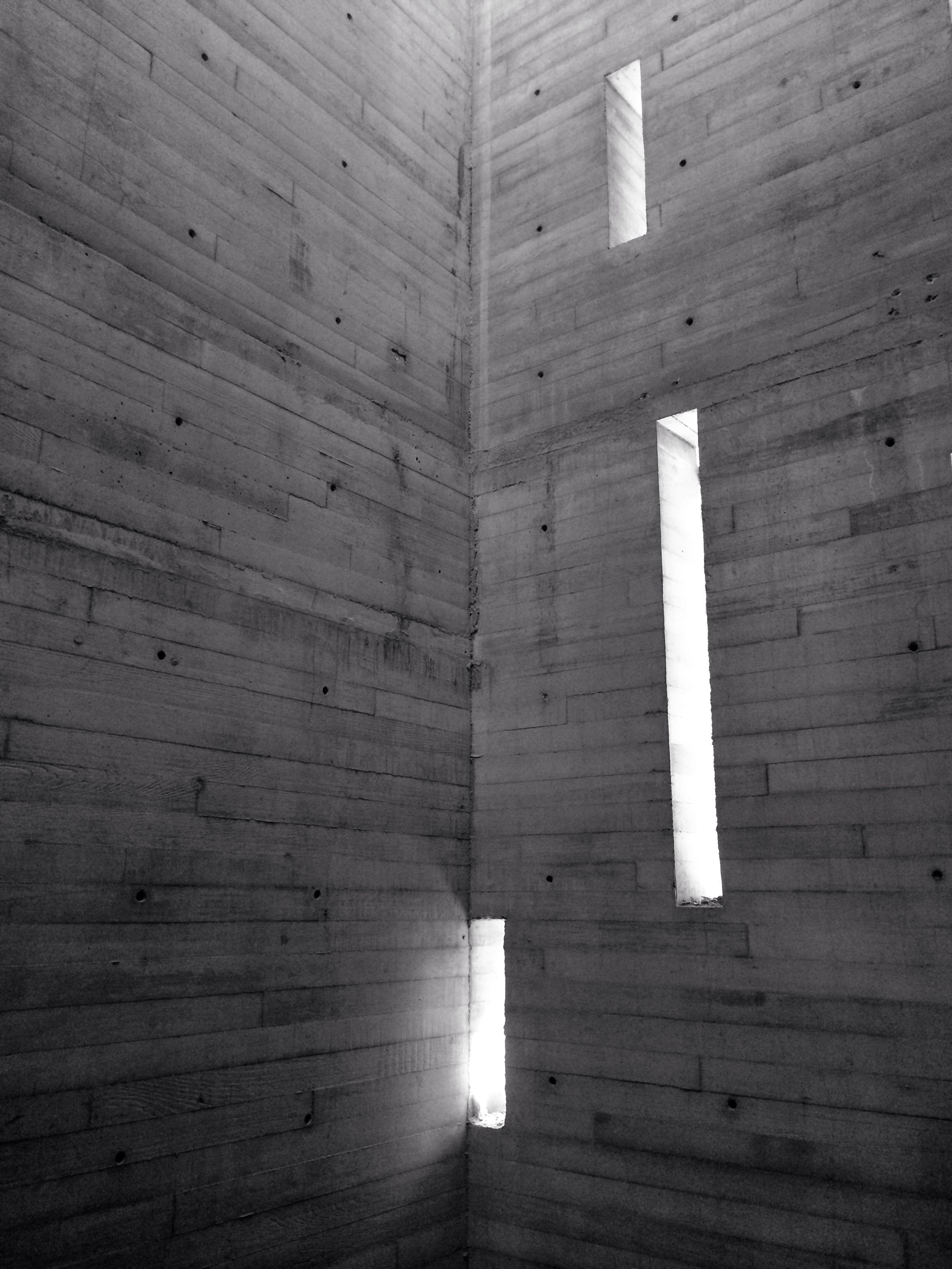 Cubo de escaleras de concreto aparente casa coyoacan - Escaleras para casa ...