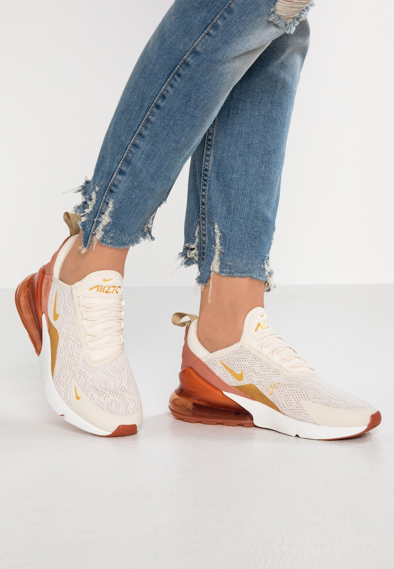 Nike Sportswear AIR MAX 270 - Sneakers laag - light cream ...
