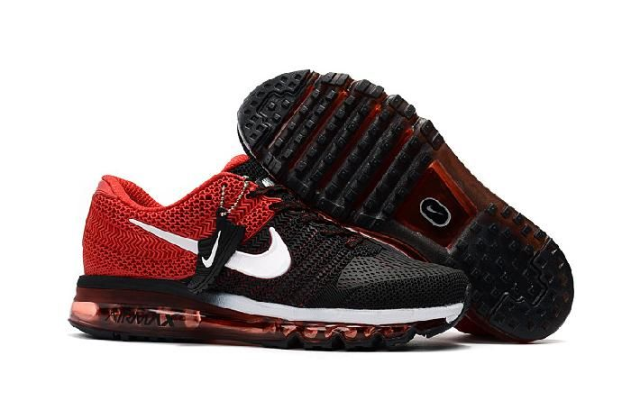 Hot Nike Air Max 2017 Black Red White for Men