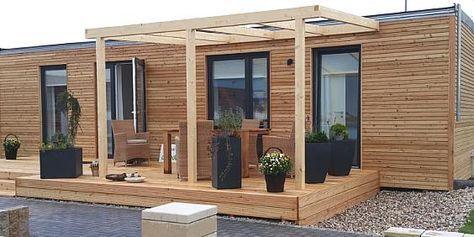 mobiles Haus Woodee Fertighaus, Modulhaus Musterhaus in