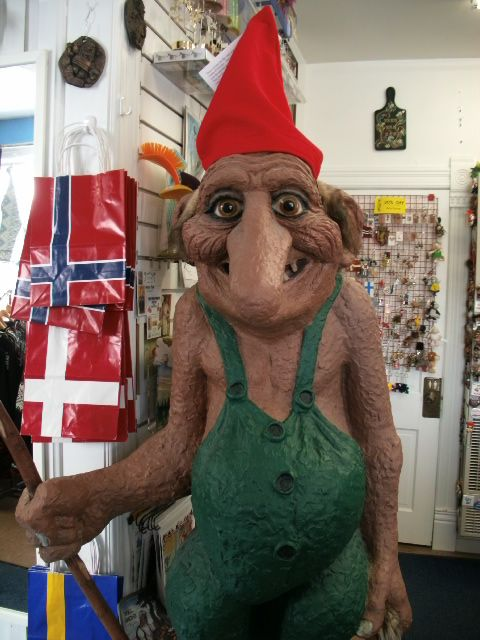 Open House Imports in Mt  Horeb, WI  Troll inside as well as