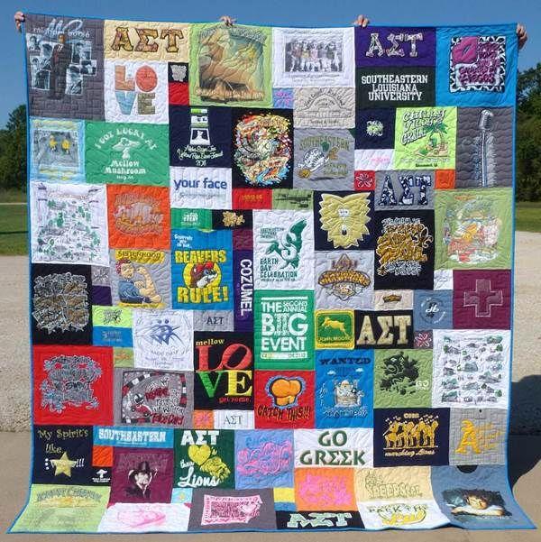 Mosaic T Shirt Quilt