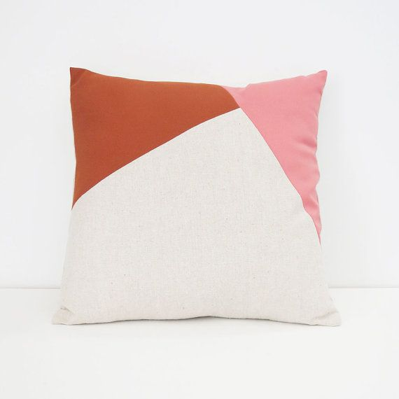 Colorblock Pillow No. 2 by hantverk