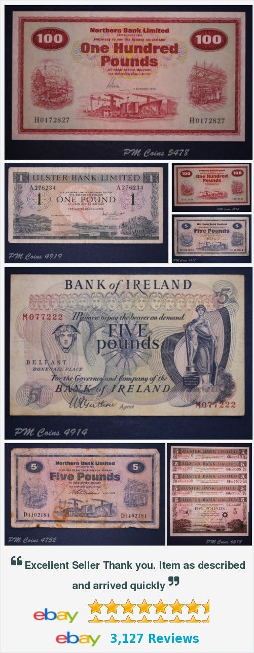 Northern Ireland Banknotes items in store on eBay! #northernirelandbanknote items in store on eBay! http://stores.ebay.co.uk/PM-Coin-Shop/Northern-Ireland-Banknotes-/_i.html?_fsub=6133770010&_sid=1083015530&_trksid=p4634.c0.m322