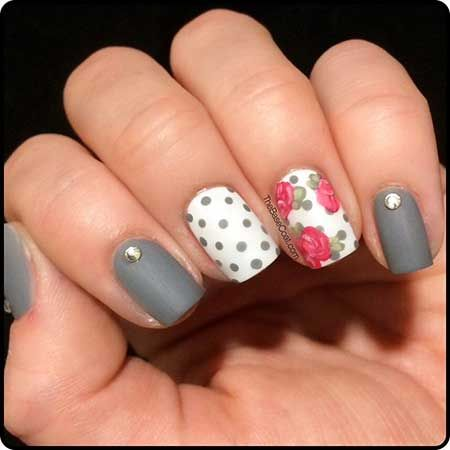 Spring Gray Nail Designs Pictures 2017 - Spring Gray Nail Designs Pictures 2017 COLOR Pinterest Nail