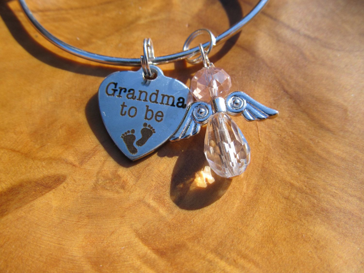 CHRISTMAS - Grandmother, Grandma to BE - Personalize with Girl or Boy Angel - Great Gift for New Grandma to Be - Reveal Party #newgrandma