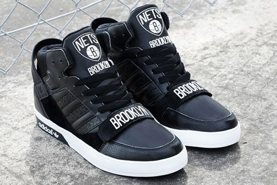 Adidas Shoes   Brooklyn Nets Adidas Sneakers   Color: Black