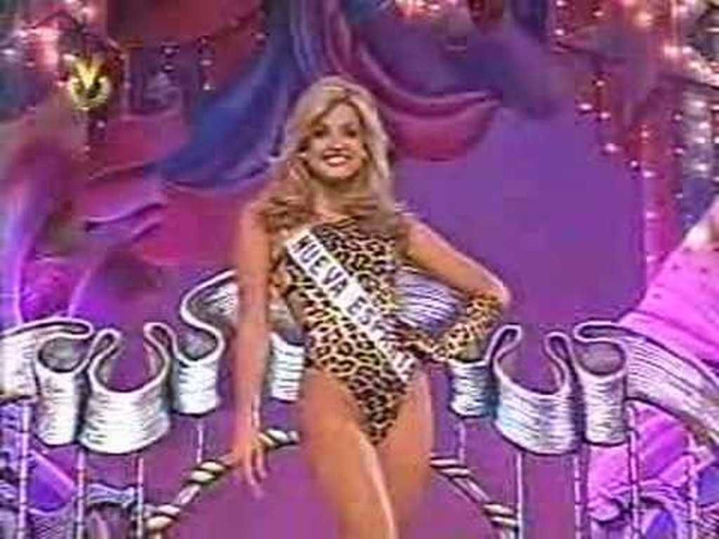 Christina Dieckmann Miss Nueva Esparta -  Fuerte Candidata a Coronarse como Miss Venezuela 1997...
