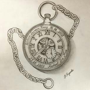 Pin De Eva Santos Fuentes En Wisdom Quotes Tatuaje Reloj De Bolsillo Dibujo Reloj De Bolsillo Tatuajes De Relojes