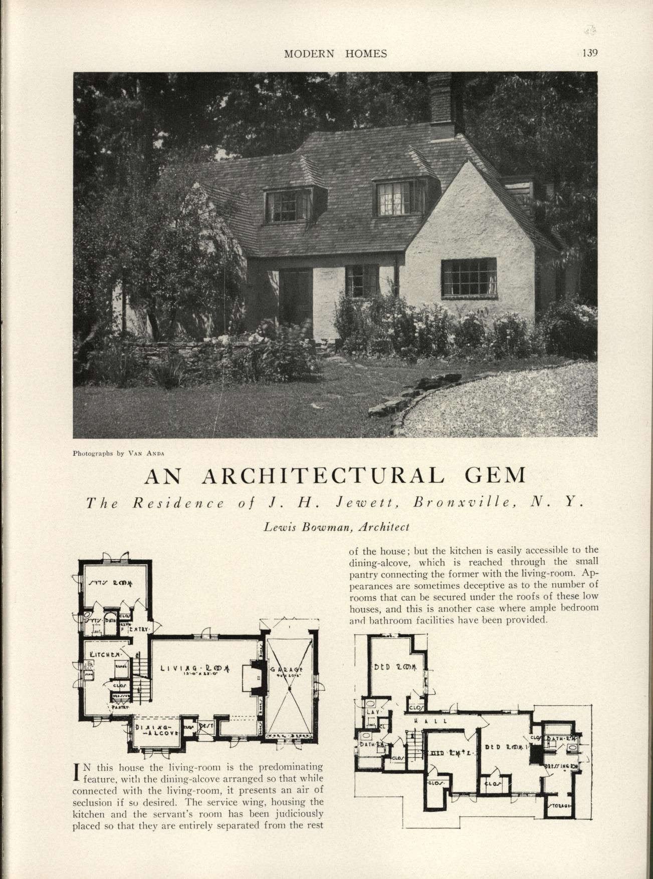 Modern Homes Their Design And Construction 1800s 1940s House 1940 Home Electrical Wiring Diagrams